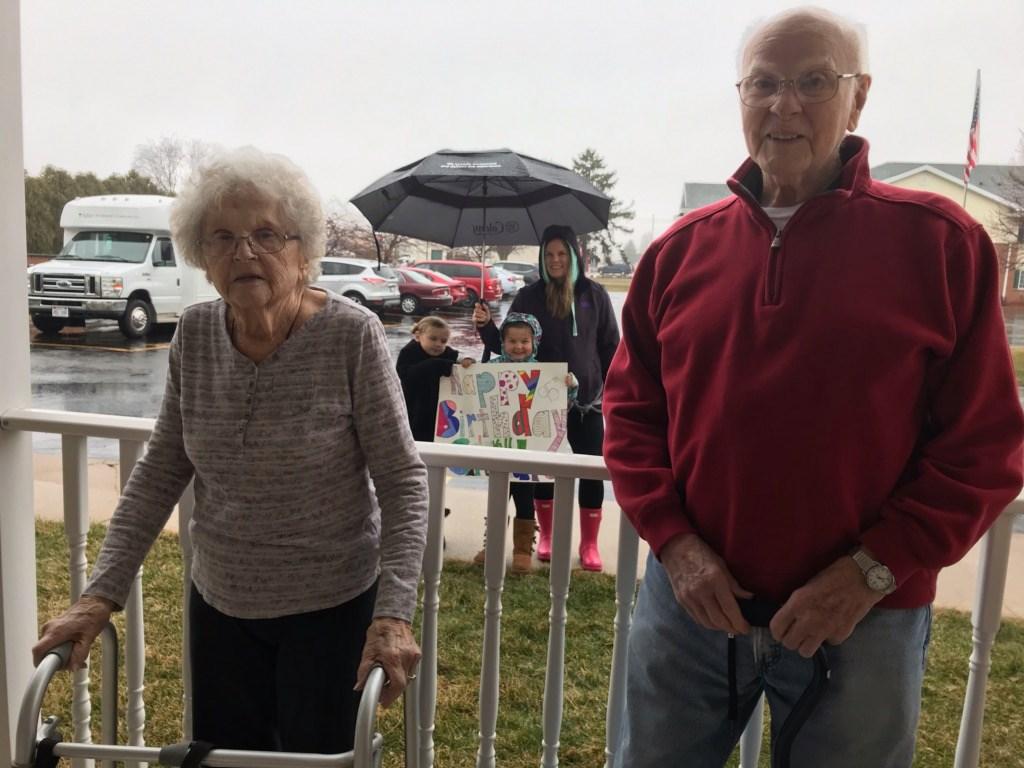 Seniors And Social Distancing